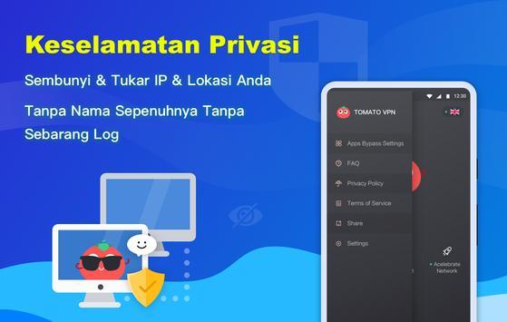 Free VPN Tomato   VPN Hotspot Percuma Terpantas syot layar 4