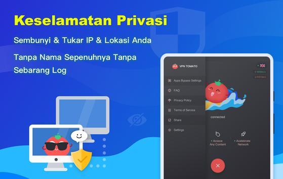 Free VPN Tomato   VPN Hotspot Percuma Terpantas syot layar 14