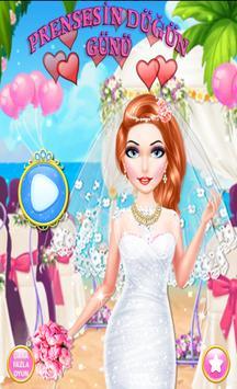Prenses Düğünü - Ücretsiz Gelinlik Giydirme Oyunu poster
