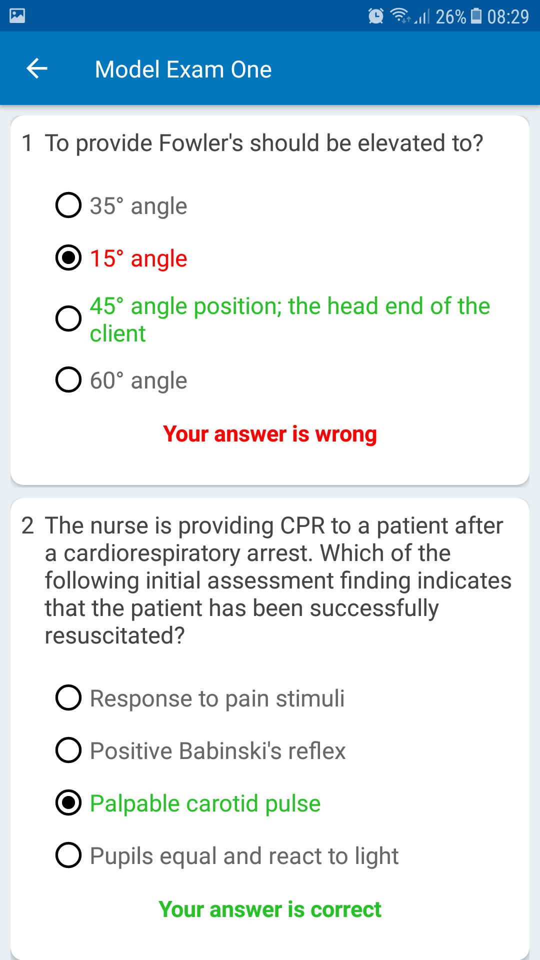 Nursing Officer exam preparation by gk4success for Android