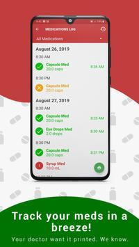 Medica: Medication Reminder, Pill & Refill Tracker Screenshot 8