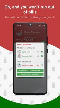 Medica: Medication Reminder, Pill & Refill Tracker Screenshot 4