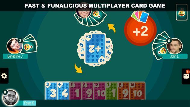 Crazy 8 Multiplayer ảnh chụp màn hình 1