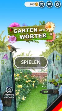 Garten der Wörter Plakat