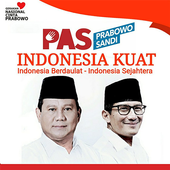 Prabowo Sandi WAStickerApps icon