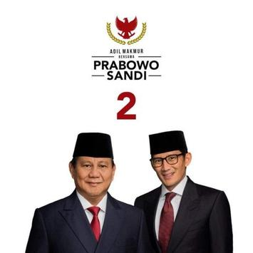 Prabowo Sandi WAStickerApps screenshot 1