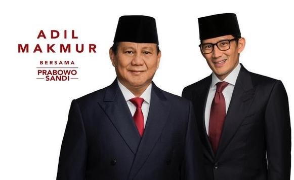 Prabowo Sandi WAStickerApps screenshot 3