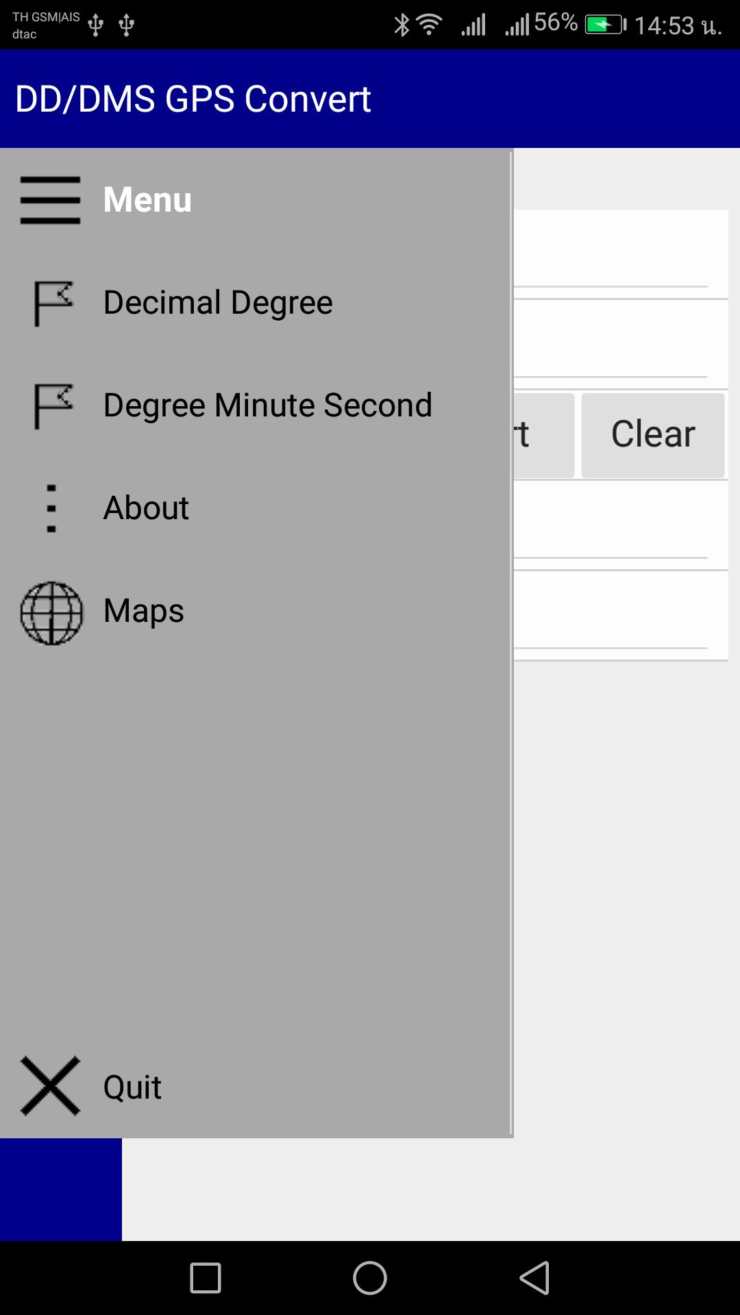 DD-DMS GPS Convert for Android - APK Download