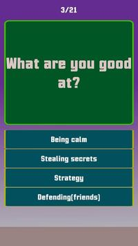 Play Quiz - Which Squad Character Belong to you? screenshot 3