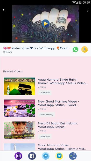 Naat Status Islamic Video Status 2019 For Android Apk