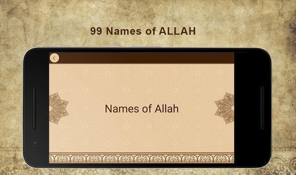 99 Names of Allah screenshot 8
