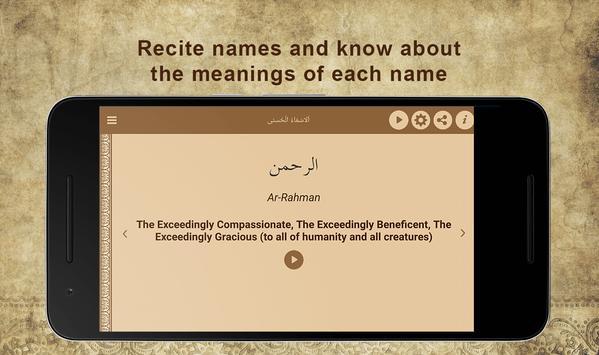 99 Names of Allah screenshot 13