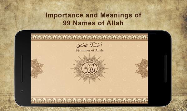 99 Names of Allah screenshot 1