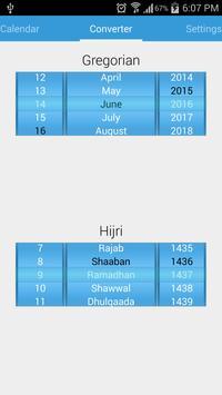 Islamic Calendar 스크린샷 3