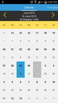 Islamic Calendar poster
