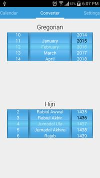 Islamic Calendar screenshot 1