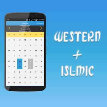 Islamic Calendar screenshot 2