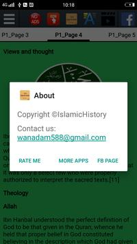 Biography of Imam Ahmad ibn Hanbal screenshot 9
