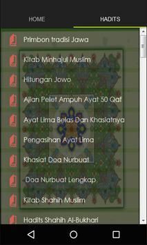 Primbon tradisi Jawa poster