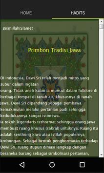Primbon tradisi Jawa screenshot 1