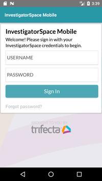 InvestigatorSpace Mobile screenshot 1