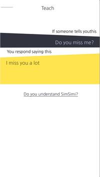 SimSimi screenshot 1