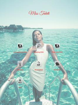 Poster Miss Tahiti