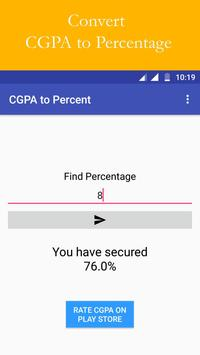 CBSE Result and CGPA Calculator screenshot 1