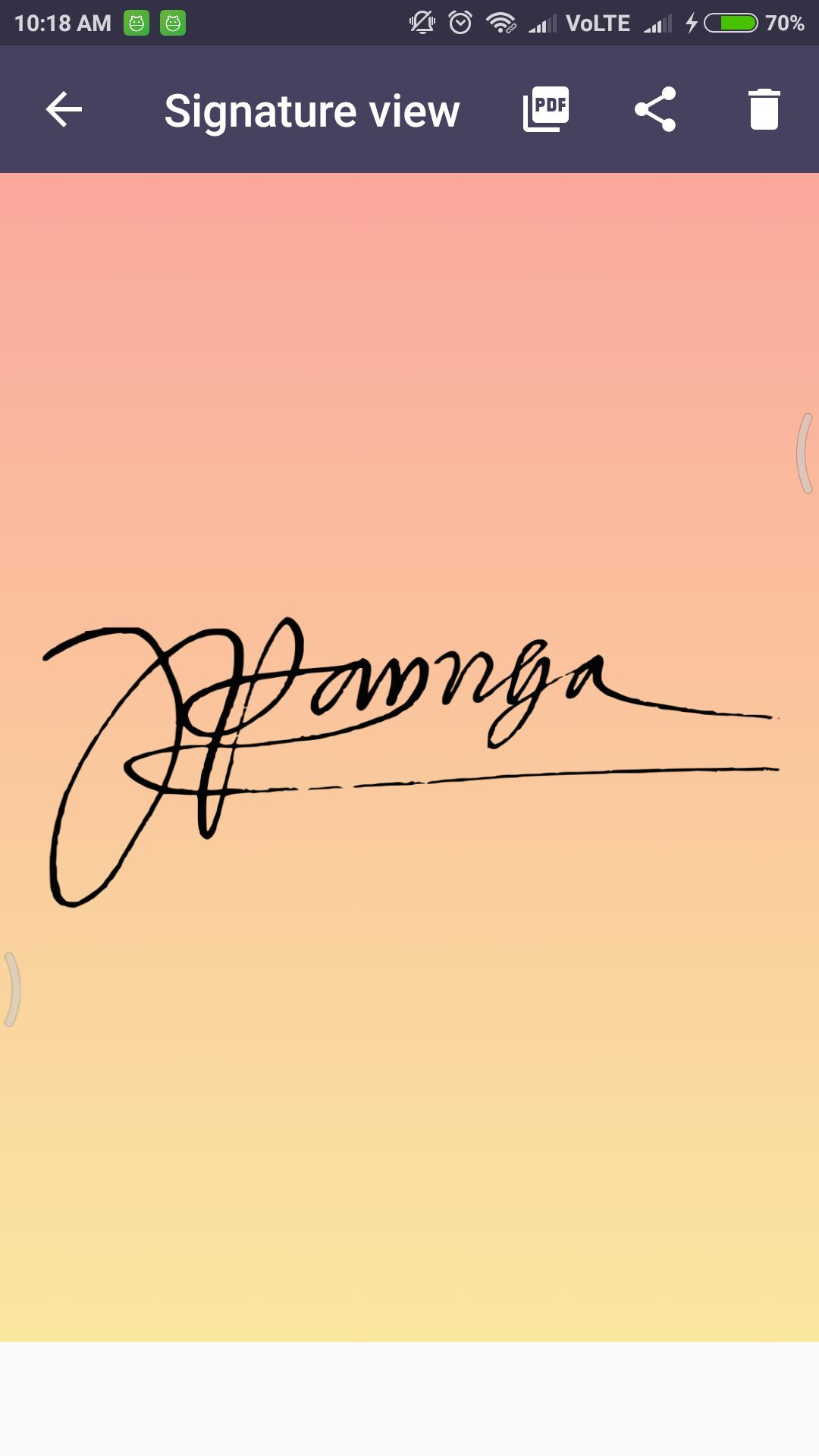 Signature Creator for Android - APK Download