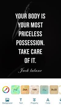 Quotes Creator plakat