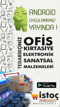 İstoç Toptan Kırtasiye - Tedarik poster