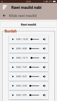 Kitab Rawi Maulid Nabi (New) screenshot 13