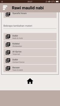 Kitab Rawi Maulid Nabi (New) screenshot 11