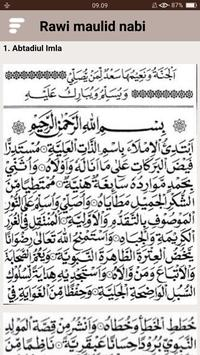 Kitab Rawi Maulid Nabi (New) screenshot 14