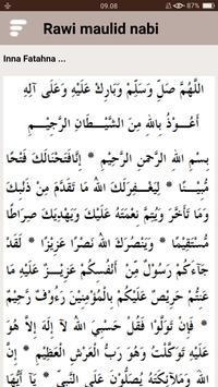 Kitab Rawi Maulid Nabi (New) screenshot 15