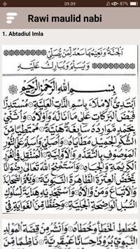 Kitab Rawi Maulid Nabi (New) screenshot 21