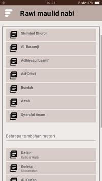 Kitab Rawi Maulid Nabi (New) screenshot 2