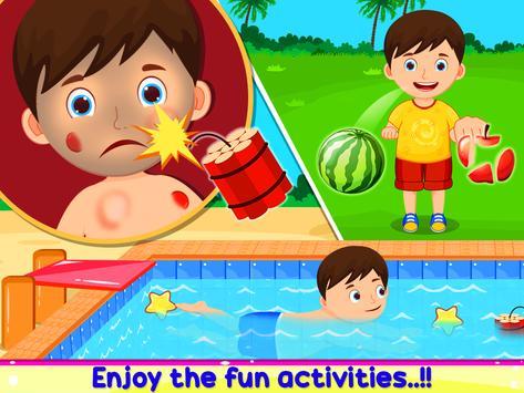 Summer Theme Park - Fun Activity poster
