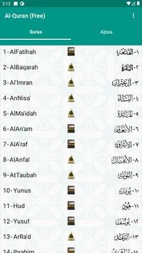 Al-Quran (Free) Ekran Görüntüsü 16