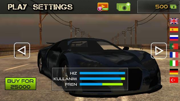 Unlimited Car Race 3D screenshot 3