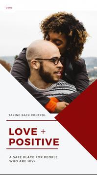 LOVE POSITIVE poster