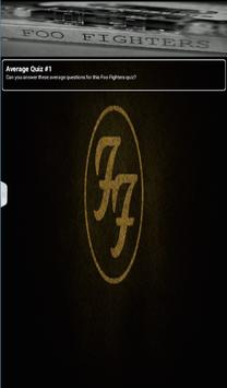 Foo Fighters Quiz Game poster