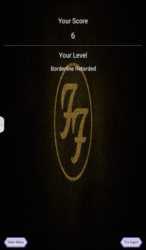 Foo Fighters Quiz Game screenshot 11