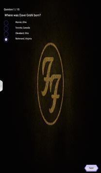 Foo Fighters Quiz Game screenshot 2