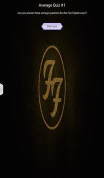 Foo Fighters Quiz Game screenshot 5