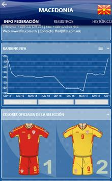 Fedefutbol App screenshot 2