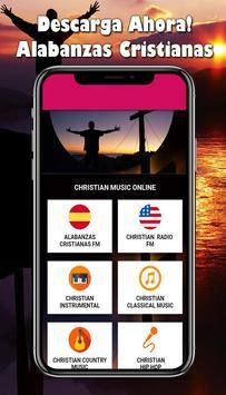 Alabanzas Cristianas Gratis:Musica Cristiana Radio الملصق