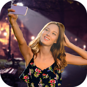 Night Selfie Camera - Front Flash icon