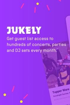 Jukely poster