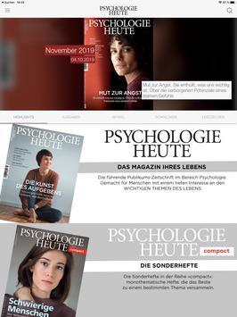 Psychologie Heute poster